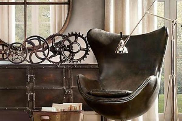 Saveti za industrijski stil u domu