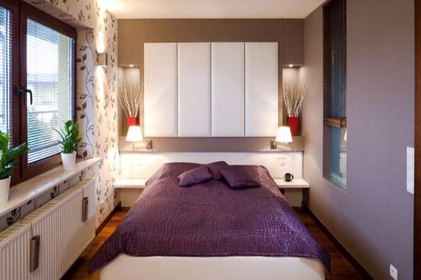 10 ideja za šik male spavaće sobe