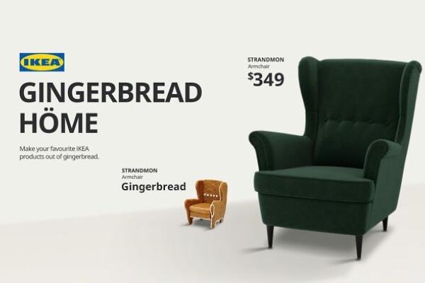 Napravite minijaturnu verziju IKEA doma uz pomoć medenjaka