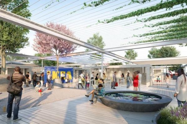 Nova urbana IKEA radnja u Beču će imati zelenu fasadu i neće imati parking