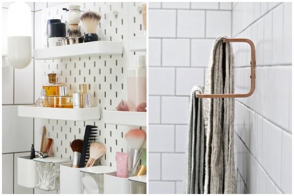 Stilski IKEA trikovi koji funkcionišu u kupatilu