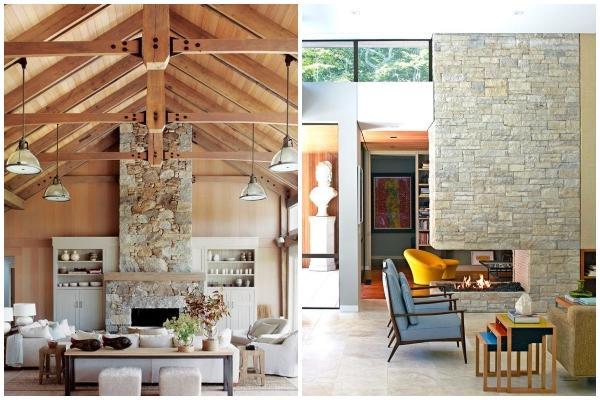 Stilski načini oblaganja kamina u savremenom domu
