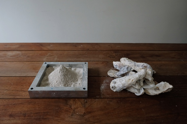 Morsko kamenje – materijal napravljen od školjki