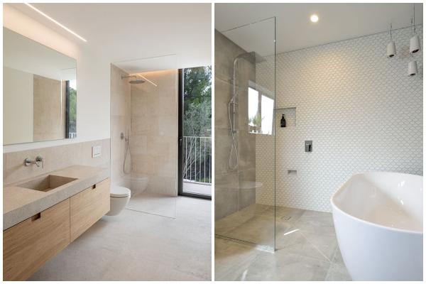 Predivna mirna kupatila u neutralnom stilu