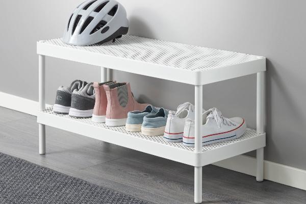 IKEA rešenja za odlaganje u ulaznim prostorima u minimalističkom stilu