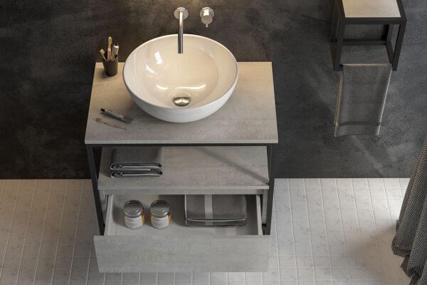 Urbano kupatilo odiše svežinom i nikada ne izlazi iz mode