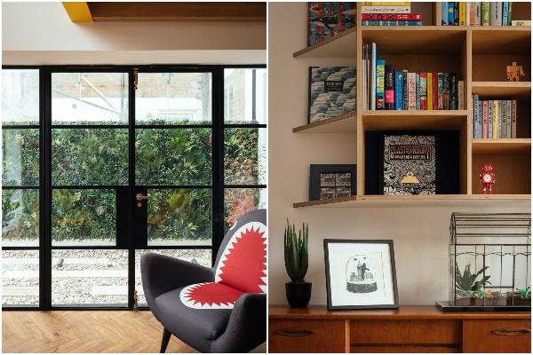 Spajanje stana sa podrumom stvorilo živopisan moderan dom u centru grada