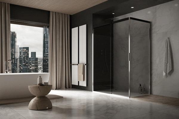 Tuš kabina koja pretvara kupatilo u wellness centar za tren oka