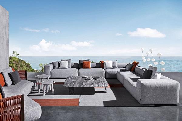 Minimalizam koji garantuje užitak: Monte Carlo Lounge sofa