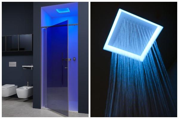 Pljusak vode i svetlosti: ugradni plafonski tuš koji ćete obožavati