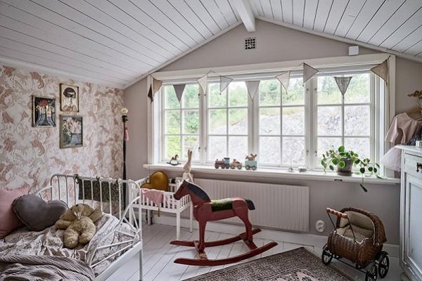Tradicionalna švedska vikendica zrači mirom i udobnošću