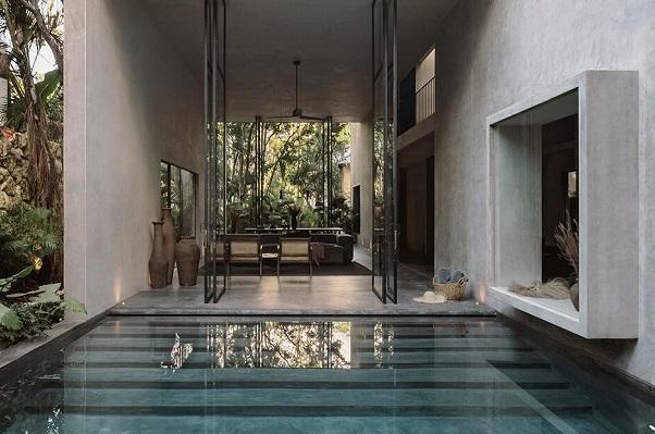 Kuća u džungli pretvorena u pravu zelenu oazu mira i spokoja