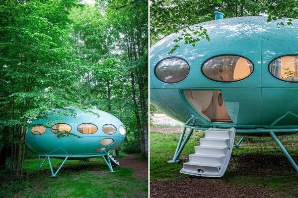 Futuristička kuća vas iz finskog parka vodi pravo u svemir!