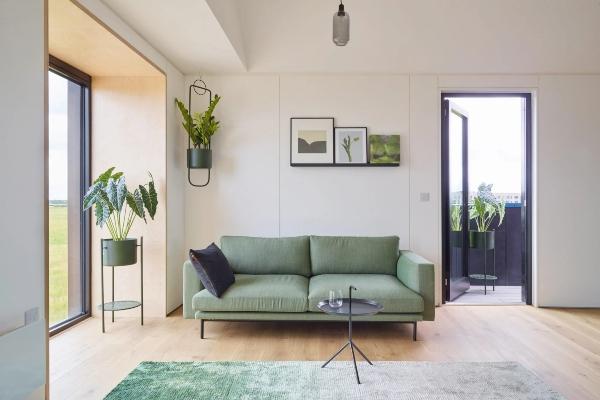 Zdravo predgrađe ispunjeno je zdravim domovima
