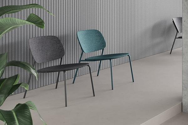 Poznati dizajn u lounge verziji: stolica idealna za odmor & razonodu