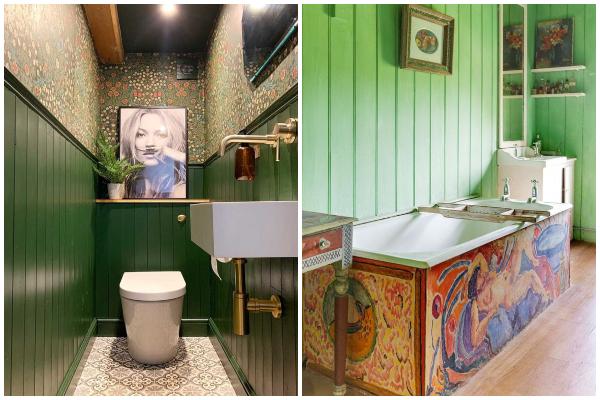 Impresivna kupatila maksimalističkog stila