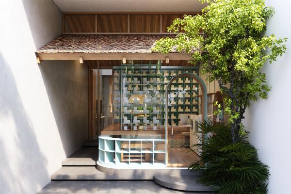 Porodična kuća oživela zahvaljujući lukovima, okruglim prozorima i vrtovima na terasama