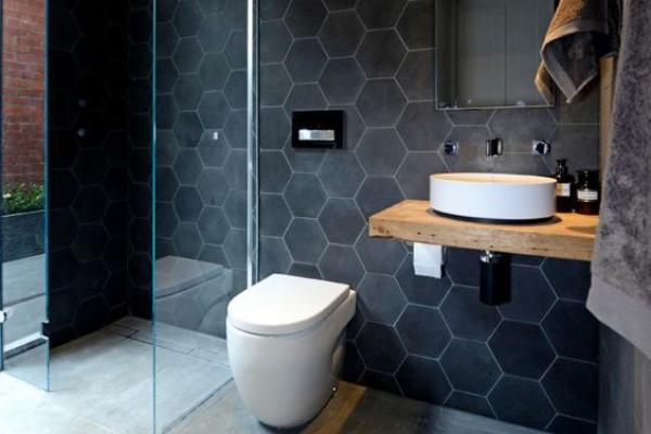 Šestougaone pločice u kupatilu – savršen stilski dodatak