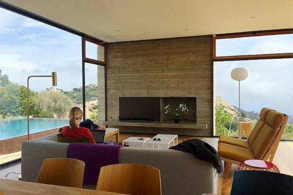 Jedinstveno odmaralište na brdima Santa Monike sa pogledom na Tihi okean