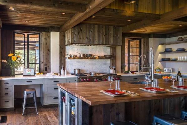 Rustične radne površine koje kuhinji daju poseban šarm