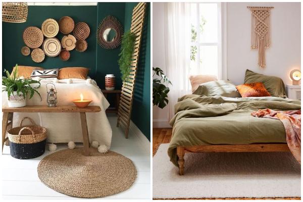 Bezvremenske i vrlo udobne spavaće sobe u zemljanim tonovima