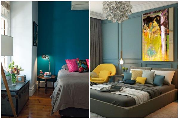 Najpoželjnije boje za dekor spavaće sobe na početku proleća