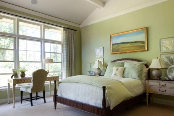 Mint zelena boja – savršena za dekor spavaće sobe
