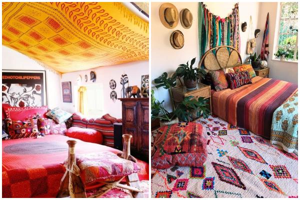 Jedinstvene ideje za uređenje spavaće sobe u maksimalističkom stilu