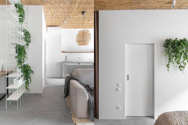 """Mali stan u tropskom stilu od 45 kvadratnih metara u """"hladnoj"""" Moskvi"""