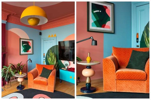 Šarenilo i grafika malog stana oduševljavaju na svakom koraku