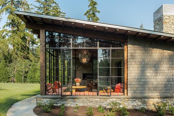Moderna seoska kuća koja će vas naterati da uživate u prirodi