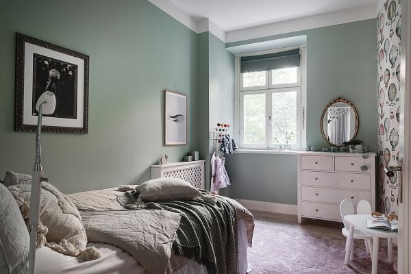 Monohromatsko zelenilo u svim sobama ostavlja bez daha