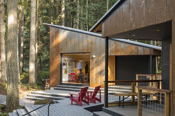 Svež vazduh, lep pogled i mnogo privatnosti: sve to nudi ova kuća u šumi