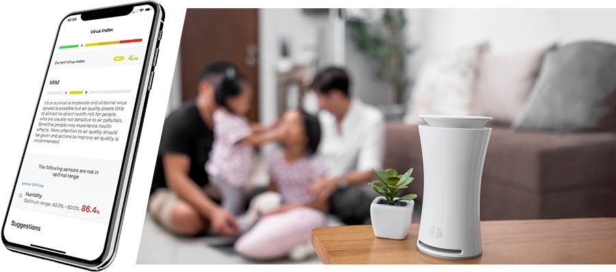 uhoo monitoring kvaliteta vazduha